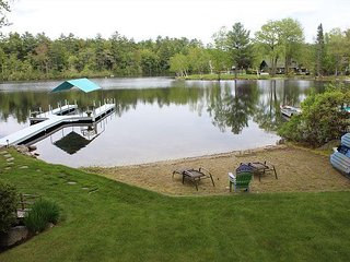 Winnipesaukee Waterfront with beautiful Sandy Beach (HAW14W)