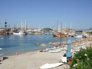Bodrum City Center Apartment With Sea View # 849
