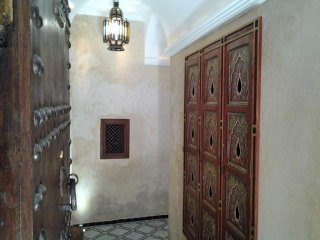 The private entrance of the Riad - Welcome to Dar Eva !