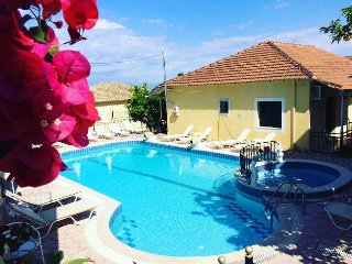 Avra Paradise Sea View Pool Aparthotel for Three friends or family
