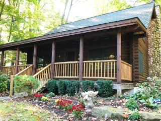Road Runner Cabin - Luxury Log Cabin in Saugatuck