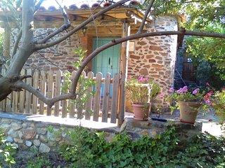 Estudio Rural,chimenea, calefacción,aire,terraza