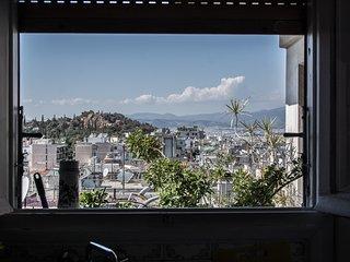Central penthouse, amazing city & Lycabettus view