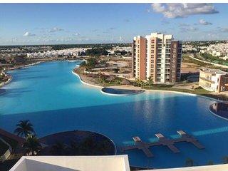 Aquamarina, hermoso departamento amueblado y equipado para vacacionar en Cancun