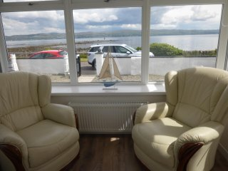 Admirals View is a Sea Front Coastal Holiday Home with 'Spectacular Sea Views'