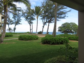 Kauai Kapaa #163 Almost Oceanfront condo Vacation Rental condo by owner OCEAN !!