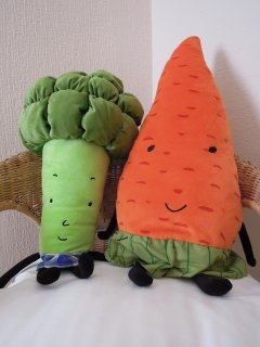 Mrs Broccoli and Mr Carrot