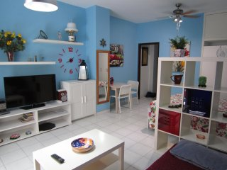 100m. from the Las Canteras beach with a balcony and free Wifi.