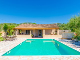 CLADERA PETIT - Villa with private pool for 6 people in Son Macià