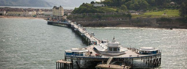 Llandudno's beautiful Victorian pier
