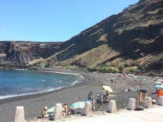 Authentic Canarian beachfront tourism.