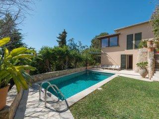 GENOVIA - villa in Gènova, near Palma de Mallorca, for 4 or 6 people