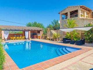 SON BARBOT - villa in Sant Llorenç Des Cardassar for 10 or 11 people
