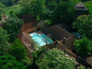 Aerial Chandra artist Residence
