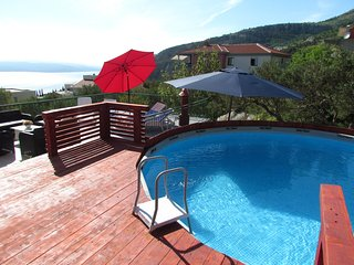 Apartments Villa NAVIS*** with pool // seaview // mountain view // BBQ, NEW