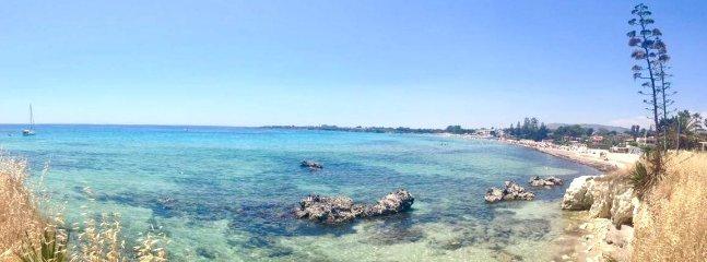 Mare antistante Villa Baia Azzurra