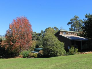 Cottage and garden looking SW - autumn