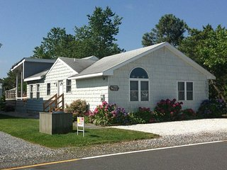 Cute one story home with open porch and sundeck. Only 2 blocks to the beach!