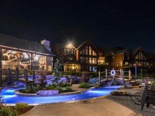 New Luxury True Lakefront Lodge~Free Amenities~Lazy River~2 Huge Pools~2mi Sdc!