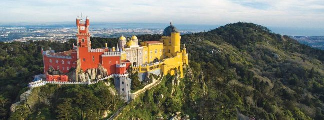 Sintra, site classé au patrimoine mondial de l'UNESCO 19 km