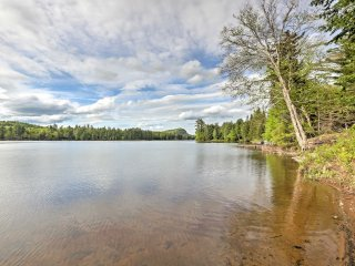 NEW! Lakefront 7BR Old Forge House w/Private Beach