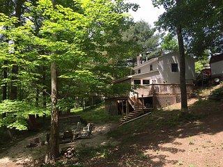 Fisherman's Cottage at Burr Oak Lake State Park, near Ohio University & Athens