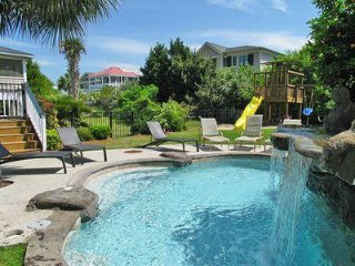 Heat-Able Pool W/ Waterfall , Deep Water Dock Golf Cart .Ocean Views
