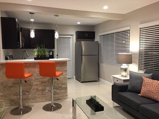 TURN KEY ONE BEDROOM SUITE #4, 3 MINUTES WALK TO THE BEACH