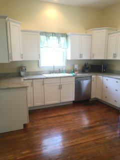 Recently updated kitchen with granite countertops