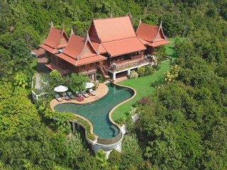Areal View of Tassana Pra Villa