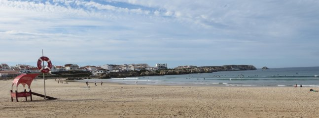 Baleal beach a short drive away, great for surfers and family trips.