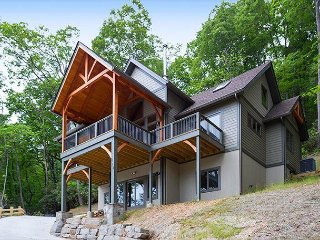 5 bedroom 5.5 bath brand- new construction Craftsman style home in Montreat!