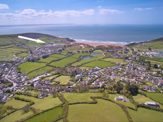 Croyde Holiday Cottages Point View Aeriel