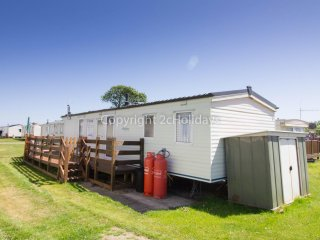 Ref 20024 Broadlands, 3 Bed, 9 Berth caravan at Broadland Sands Holiday Park.