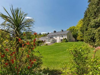 CURRADOON HOUSE, detached farmhouse, solid fuel stove, sun room, parking, garden