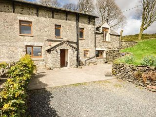 LONGWELL COTTAGE, semi-detached, 3 bedrooms two with TVs, character, near