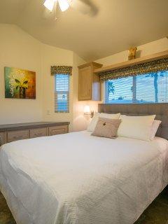 Cozy bedrooms with plenty of storage