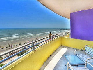 Daytona Beach Ocean Walk - Oceanfront - 1 Bedroom - Sleeps 6