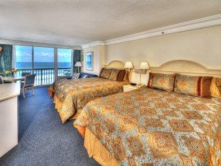 Daytona Beach Resort - 7th Floor oceanfront Studio - Private Balcony
