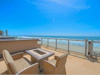 Gorgeous 2-story beach front home.  5 beds, 6 baths - 4,000 sq ft.