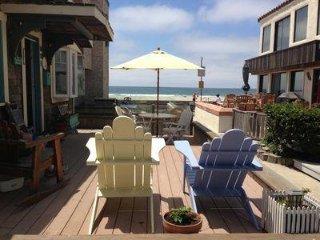 2 BR Beach House, 1 Door 2 the Shore *Large Ocean Front Deck + Pvt Upper Patio