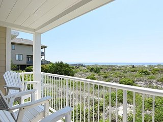 Wrightsville Dunes 1C-H - Oceanfront condo with community pool, tennis, beach
