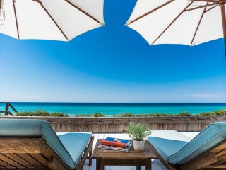 'Absolutely' ~ Gulf Front! Private Pool! Two Master Suites with Gulf Views!