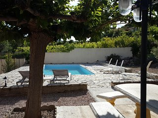 La Cachette with pool and secure garden