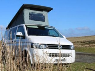 Devon Camper Hire - Modern VW Campervan Rental