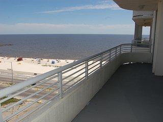Sophisticated Condo w/ WiFi, Balcony Views, Resort Gym & Pool Access