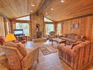 Lynx 5 - Comfortable Cabin in the Woods w/ Hot Tub, Gas BBQ, Wood Stove & A/C