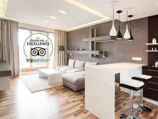 Top Floor Luxury Apartment with bikes