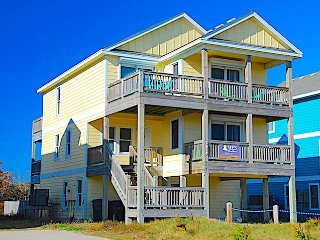 It's a Shore Thing- 5 Bedroom Semi-Oceanfront Vacation Home