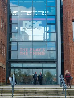 The iconic theatre of the Royal Shakespeare Company